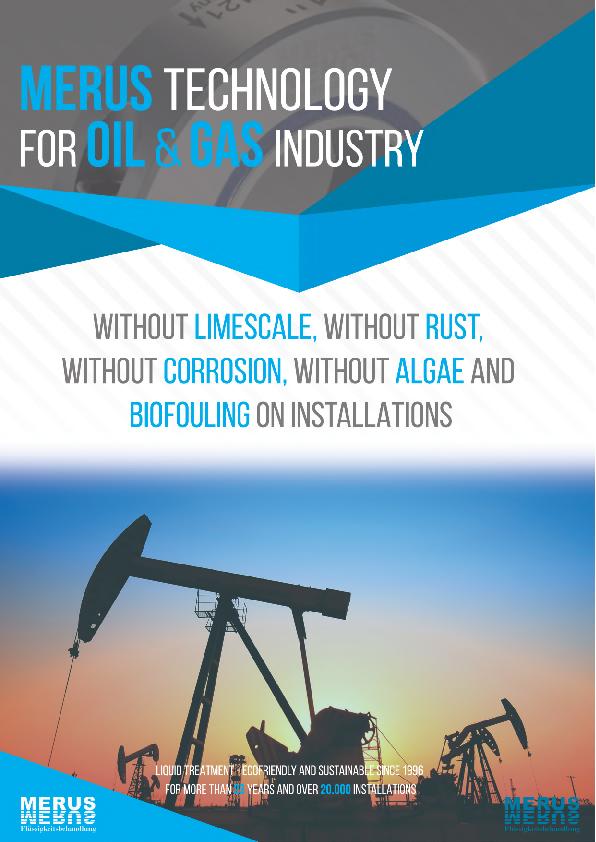 MERUS tehnologija v rafinerijah nafte in plina naslovnica spletnega kataloga